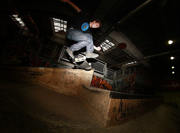 Yeah Tom skates too