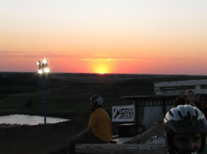 Van Dewitt in Kansas sunset - photo by: Altitude Sickness