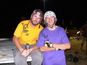 The Dirt Star's made the long haul and drove our from Salt Lake. Van Dewitt & Mason Moore