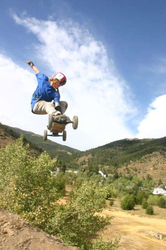 Brandon Johann writes a blog, he also tweaks a mountainboard.