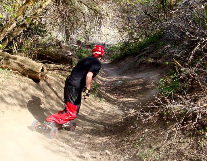 Van Dewitt Mountainboarding Bobsled Trail in Utah